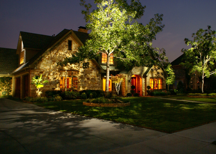 Curb Appeal Night Lighting