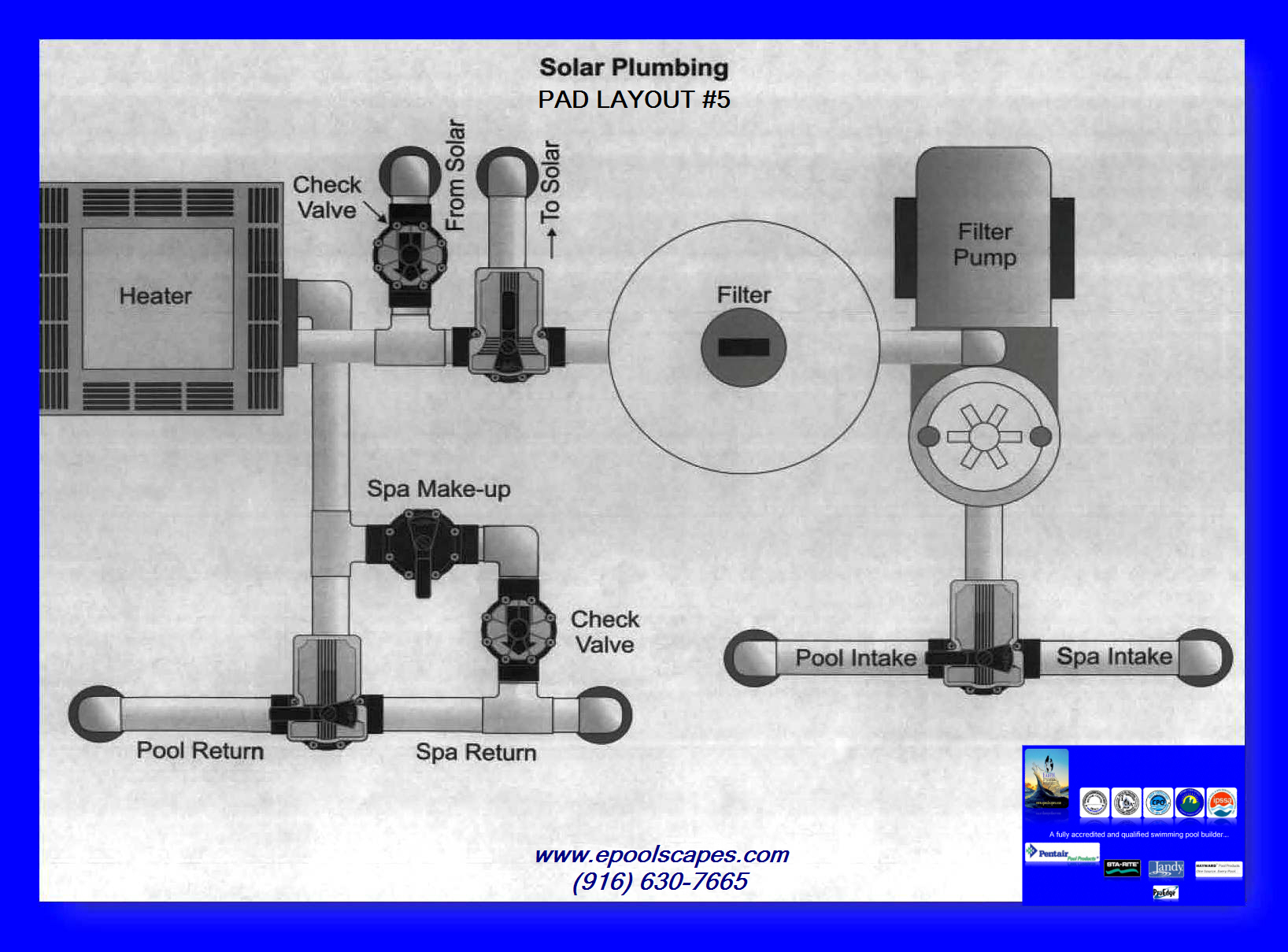 Edpi equipment schematics 5 for Pool equipment design layout