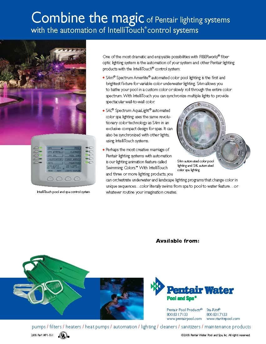 swimming pool led color lights fiber optic incandescent