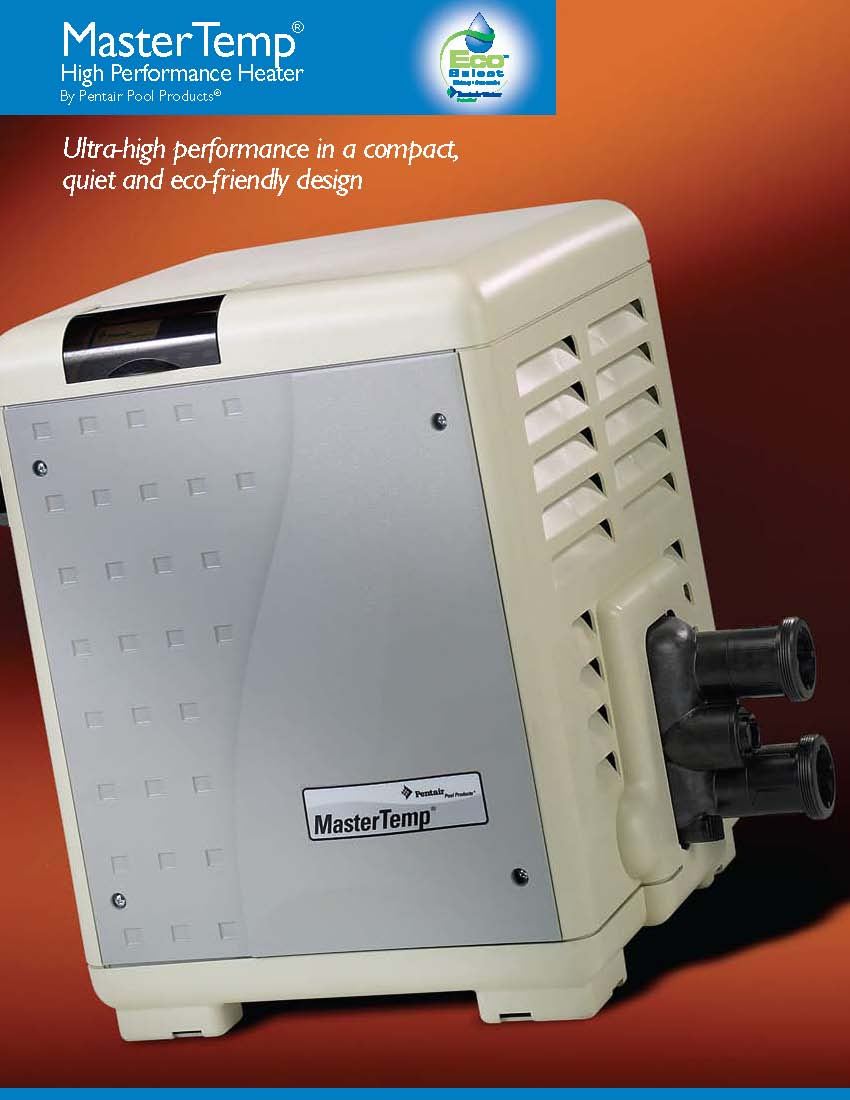 Pentair Swimming Pool Spa Master Temp Maxi Therm Heater