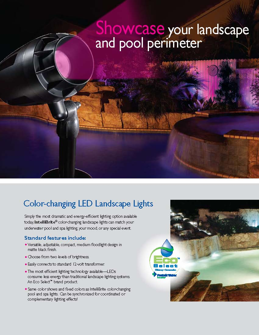 Swimming pool led color lights fiber optic incandescent click here for energy efficiency lighting pg 6 mozeypictures Images