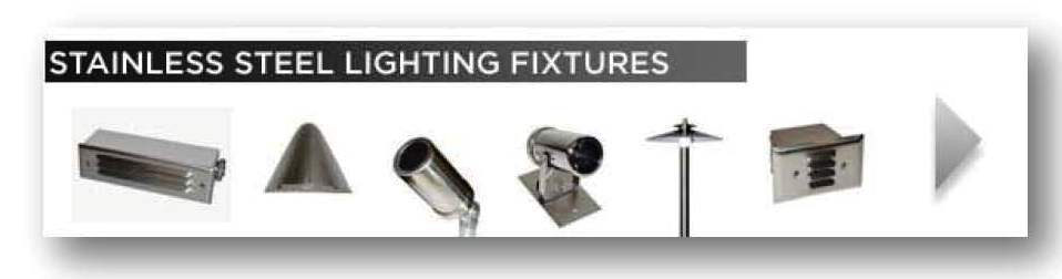Stainless Steel  Lighting Fixtures