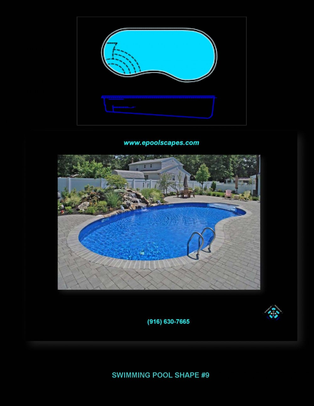 Pool Shape #9
