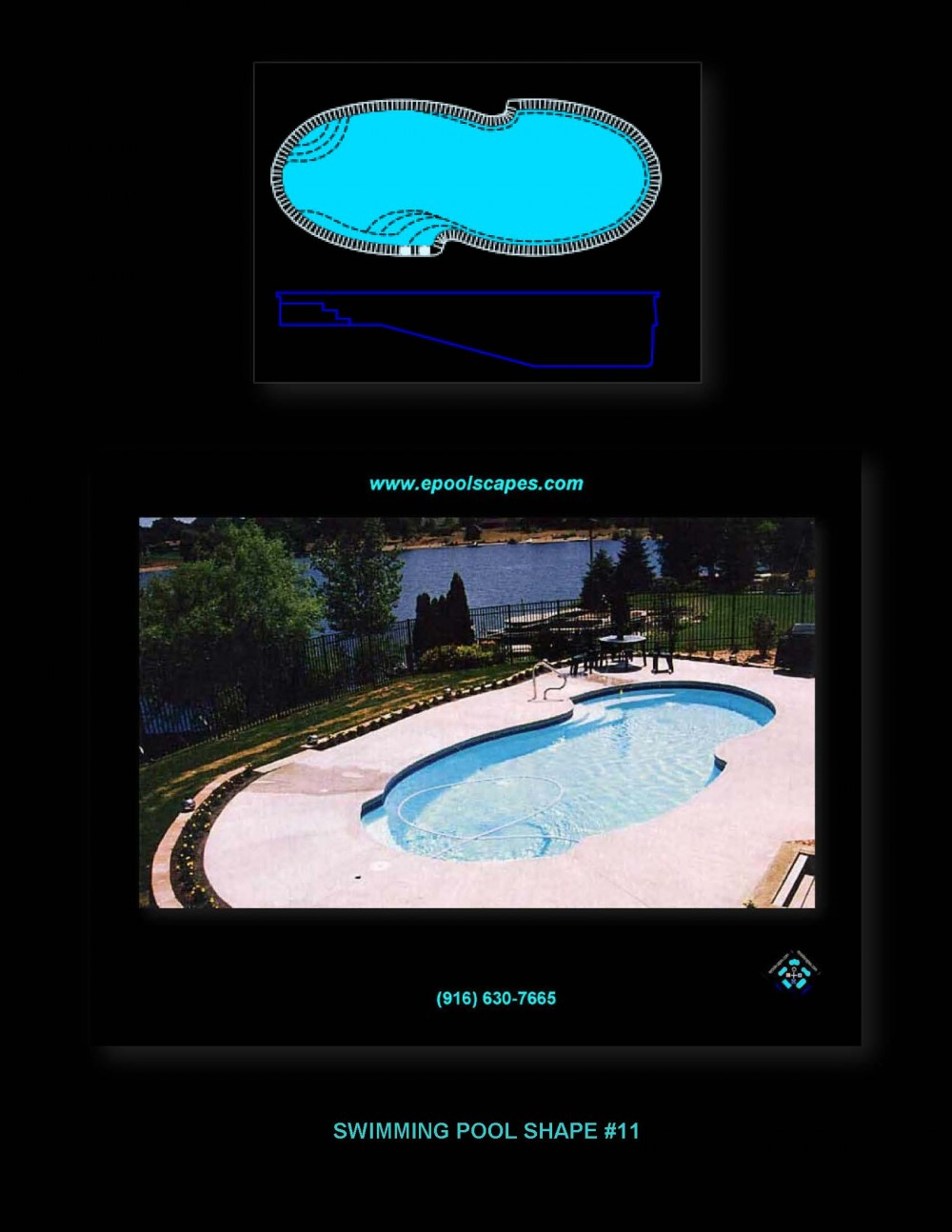Pool Shape #11