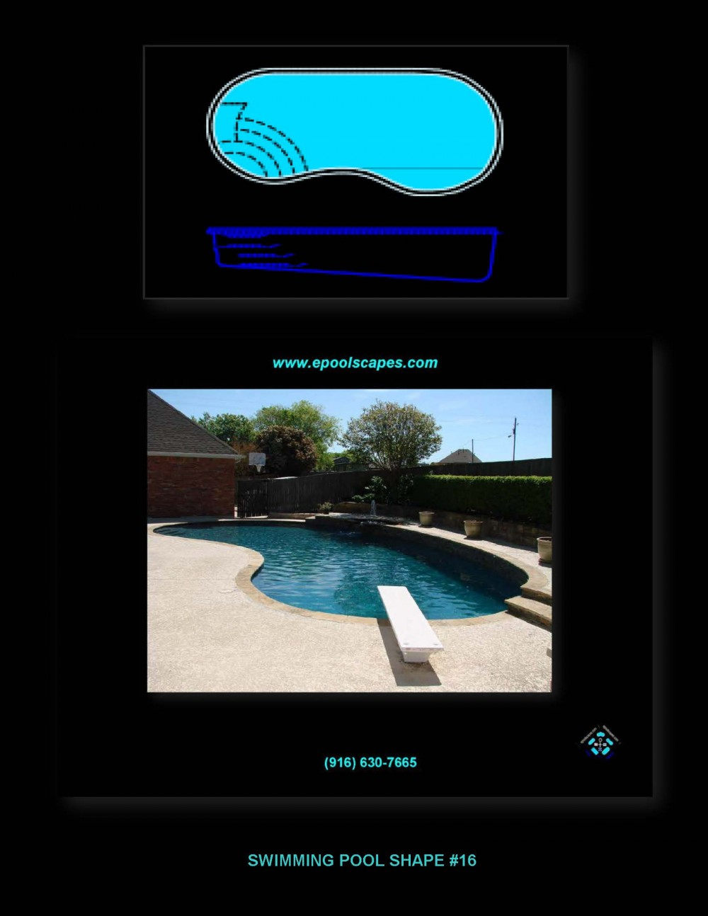 Pool Shape #16