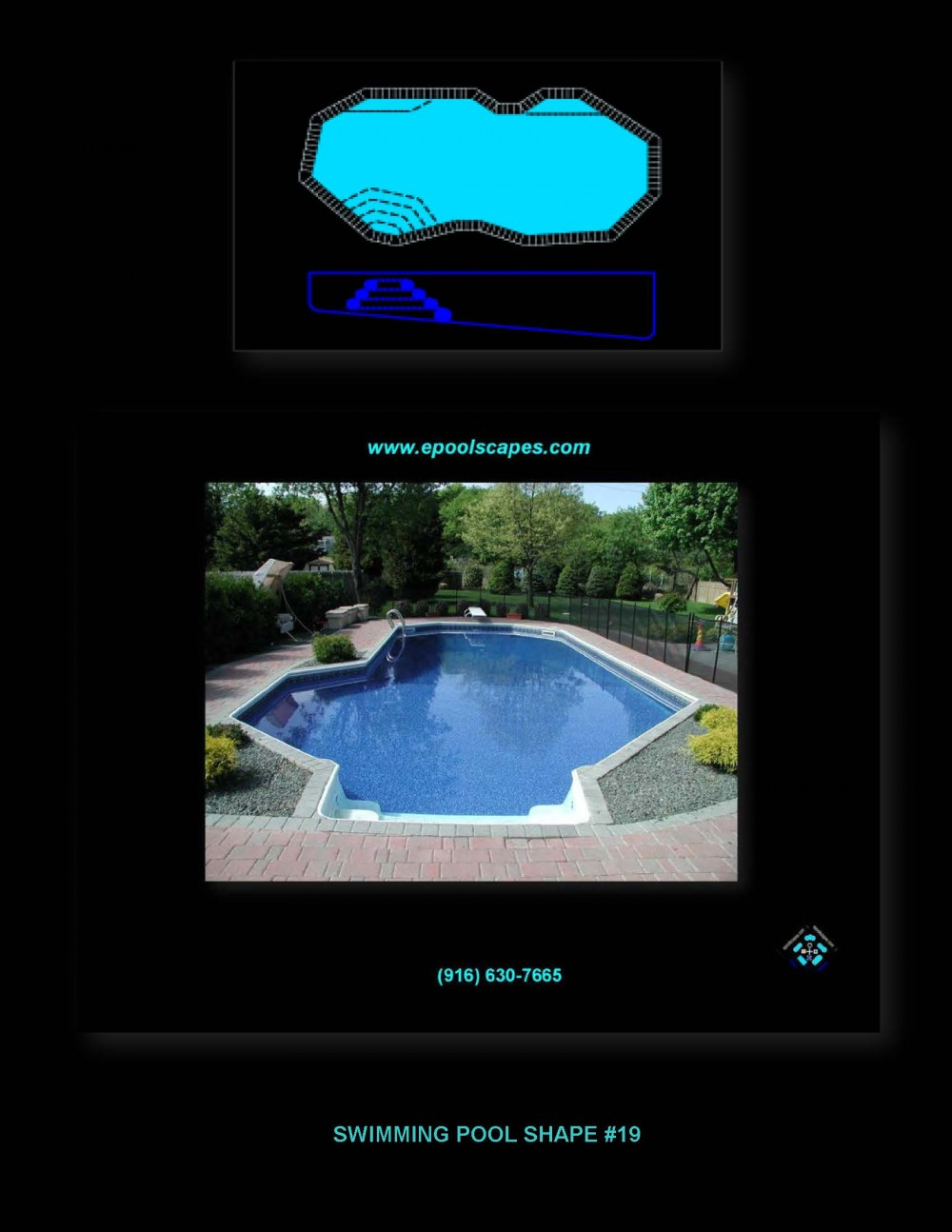 Pool Shape #19