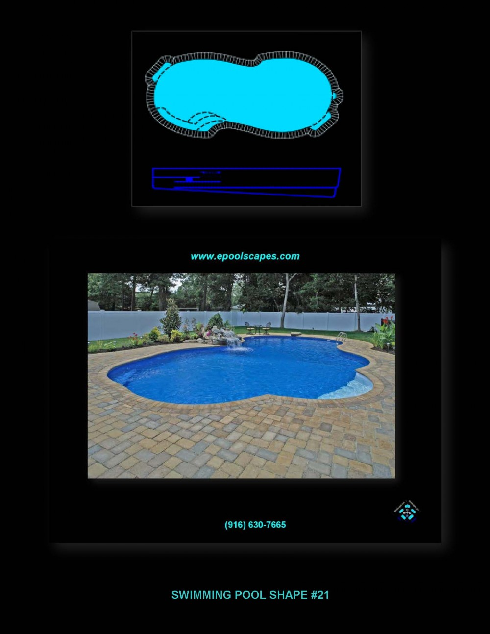 Pool Shape #21
