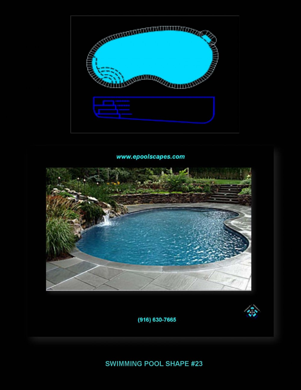 Pool Shape #23