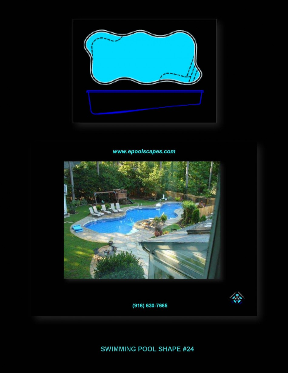 Pool Shape #24