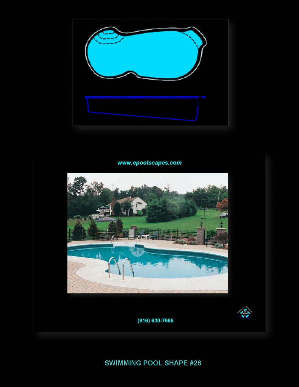 Pool Shape #26