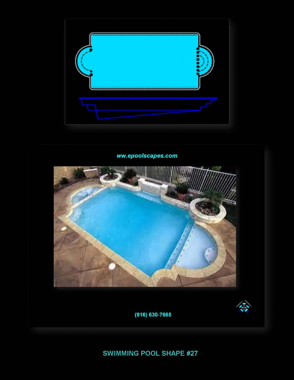 Pool Shape #27