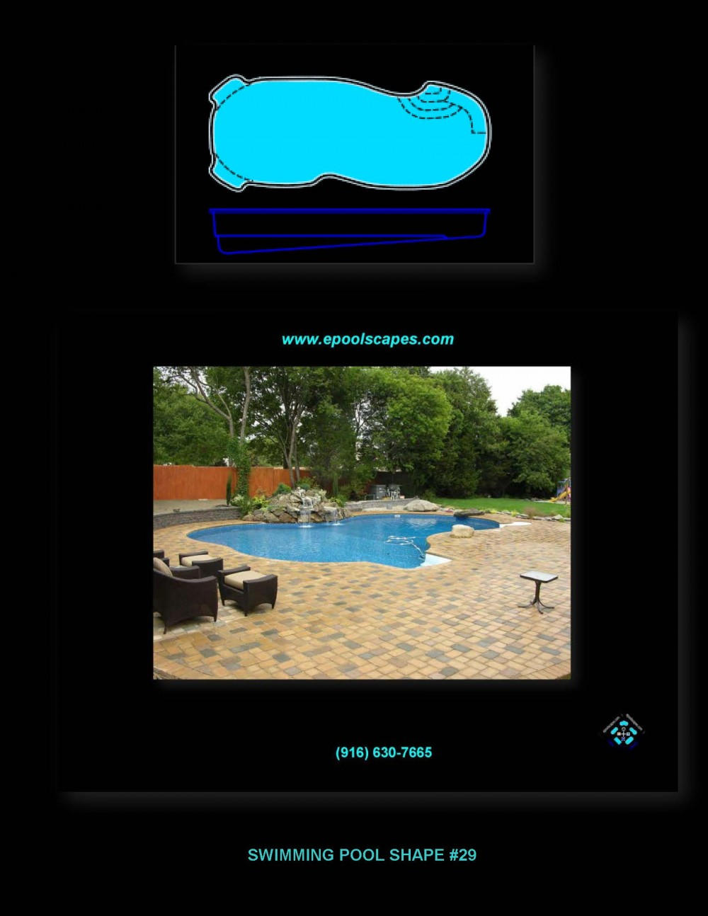Pool Shape #29