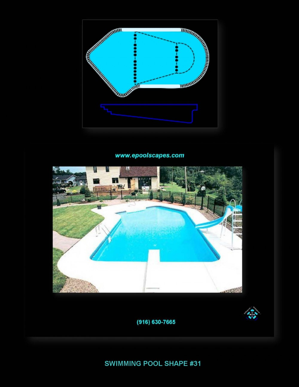 Pool Shape #31