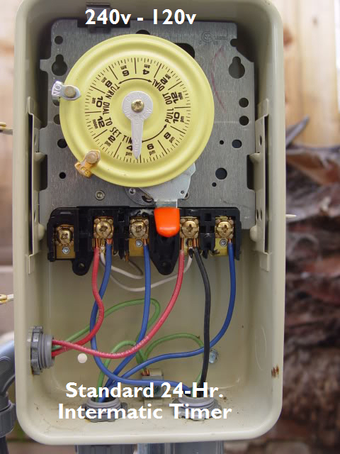 intermatic pool timer wiring solidfonts intermatic pool timer wiring diagram puzzlegames intermatic t104p3 indoor outdoor 220v pool timers on at