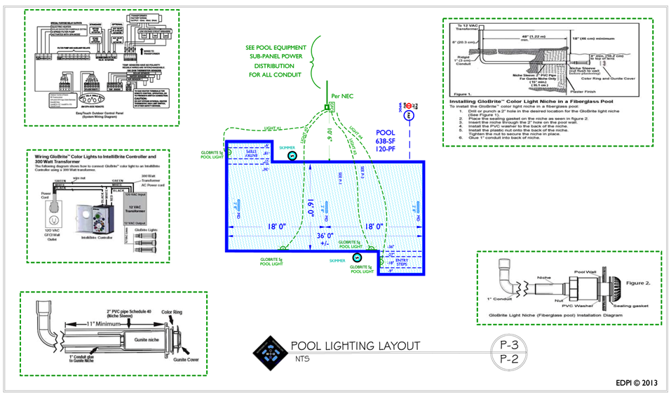 Swimming Lighting Specifications...