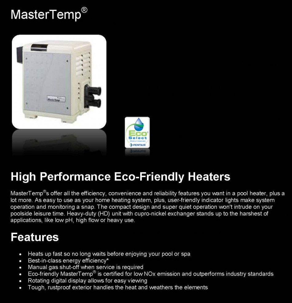 Pentair Gas Heater