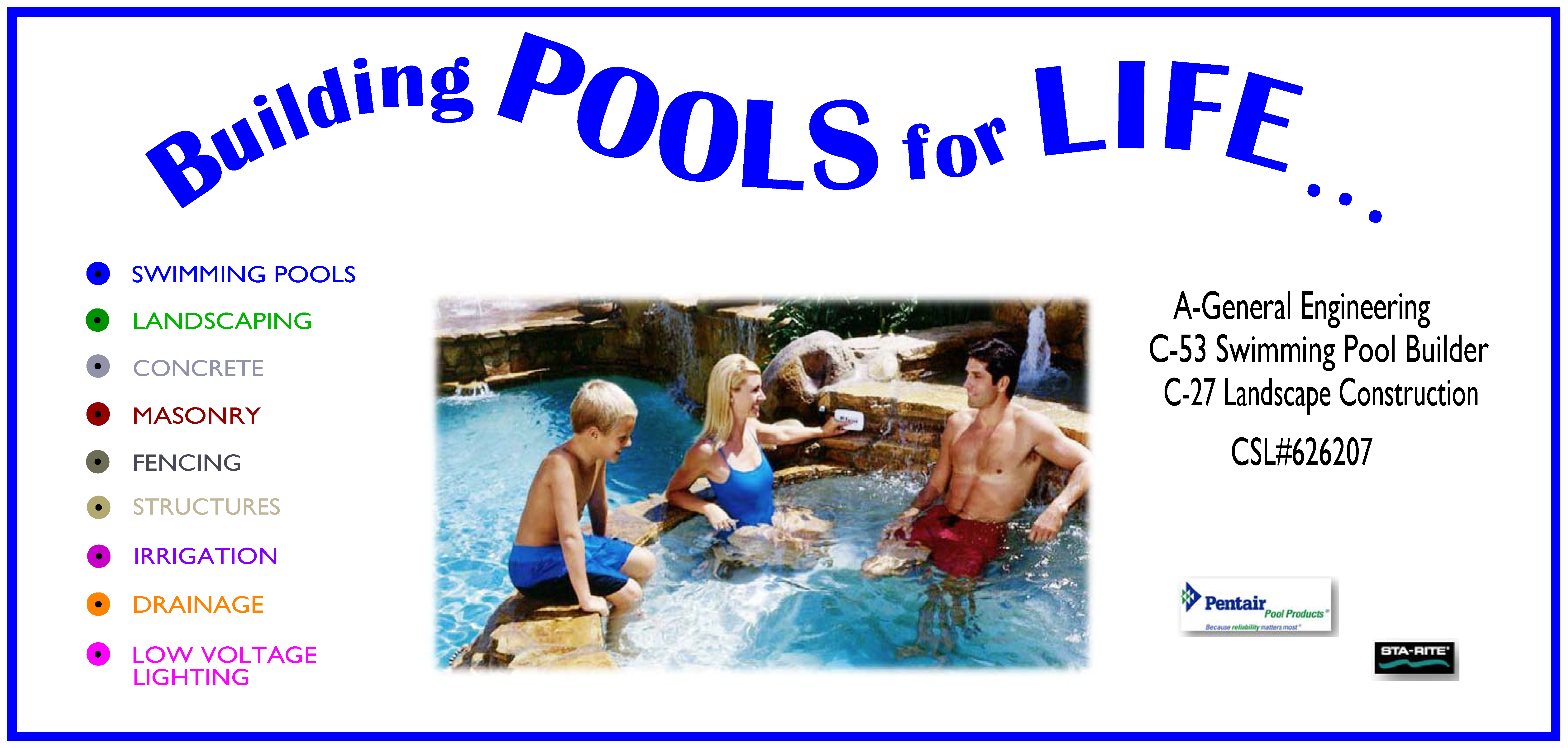 Swimming Pool Estimates