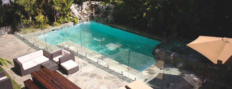 Glass Swimming Pool Safety Fencing