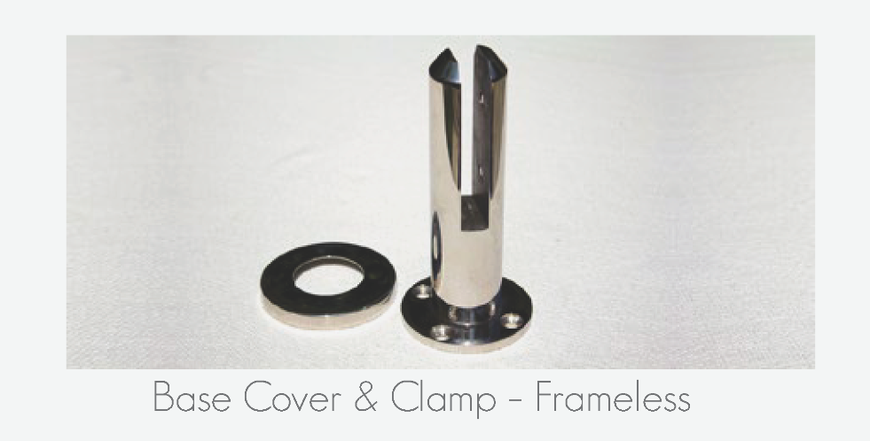 Base Cover & Clamp - Frameless