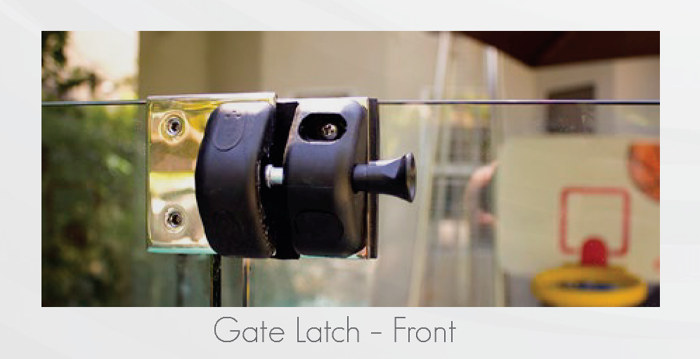 Gate Latch Front