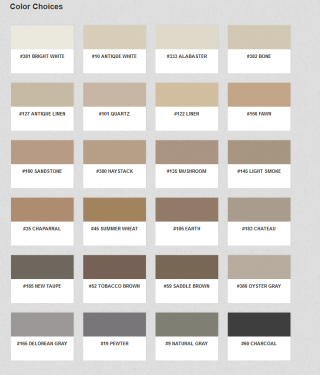 Tan Grout | Dark Brown Hairs