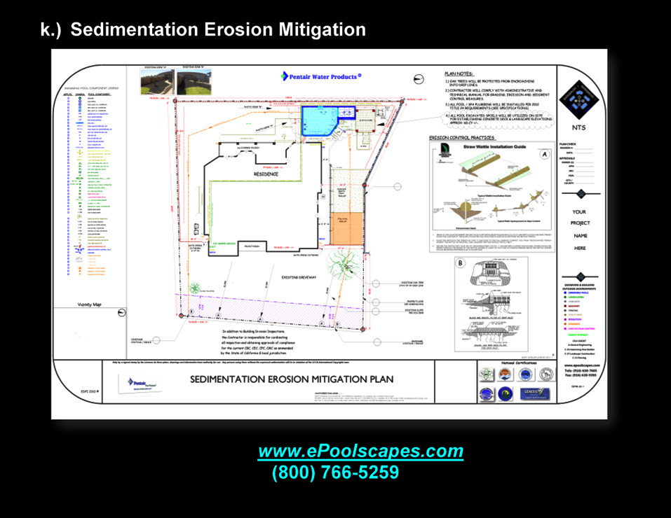 1-k Sedimentation Erosion Mitigation Plan