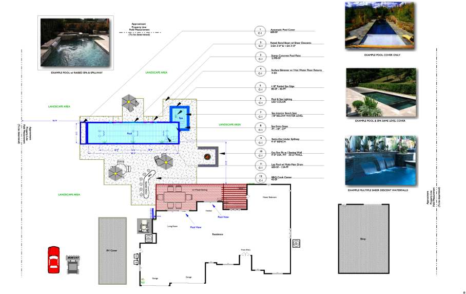 Sample Sheet P-1 Preliminary Layout Plan