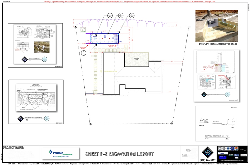 Sample Excavation Layout